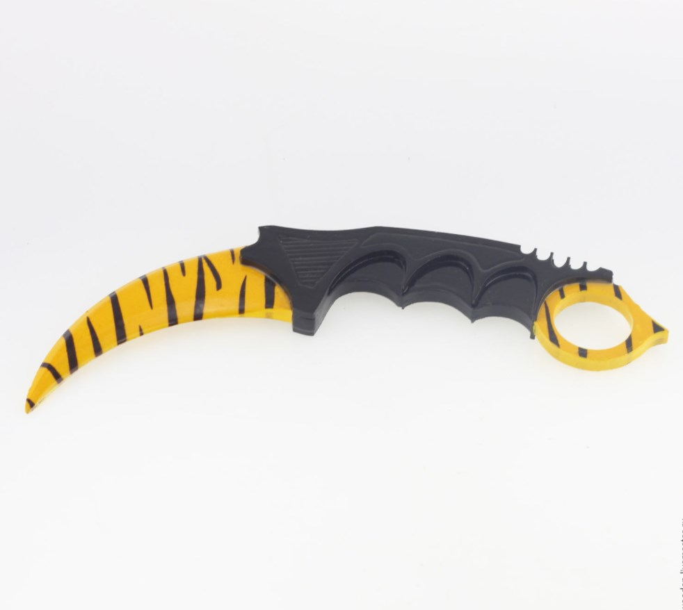 Керамбит зуб тигра своими руками
