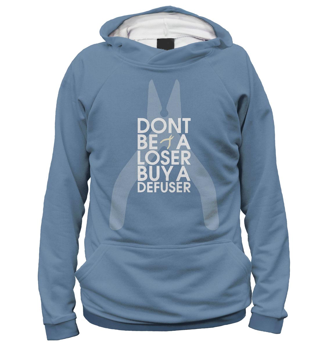 картинка Толстовка Don't Be A Loser Buy A Defuser